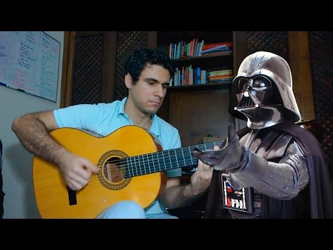 The Imperial March Star Wars  Darth Vader´s Theme  Fingerstyle Guitar Marcos Kaiser #26