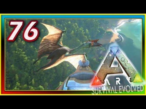 ARK: Survival Evolved - QUETZALCOATLUS TAMING / TRANQ DARTS - S2E76 ( Modded Gameplay )