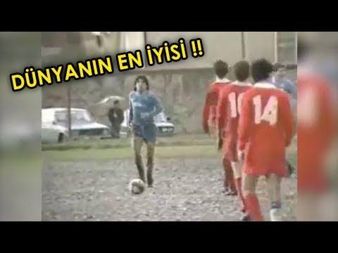 Ronaldo ve Messi Bunu Asla Yapamaz ! MARADONA'nın En İyi Futbolcu Olduğunun Kanıtı.