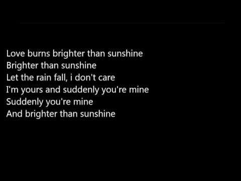 Aqualung-Brighter Than Sunshine (7ans de Séduction) [LYRICS] poster