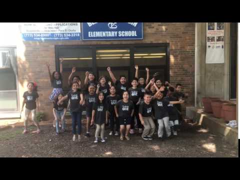 4th Grade class at Belmont Cragin Elementary School