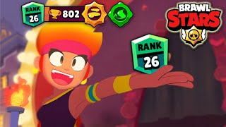 AMBER RANK 26 IN SOLO SHOWDOWN! Brawl Stars
