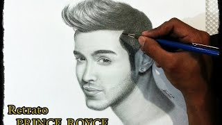DIBUJANDO A PRINCE ROYCE - SPEED DRAWING