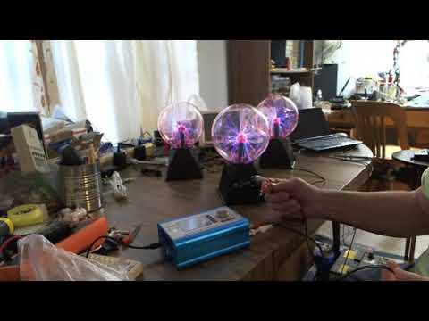 Unbelievably Dynamic 6 inch Plasma Ball 1