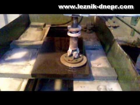 видео: Полировка гранитных изделий