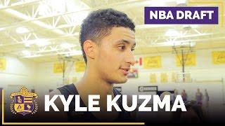 Lakers Draft Prospect: Kyle Kuzma Interview (Utah, Forward)