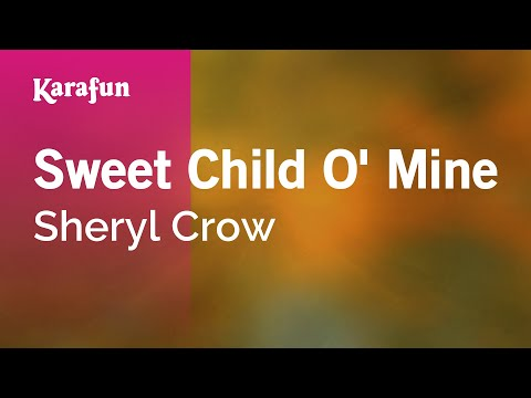 Karaoke Sweet Child O' Mine – Sheryl Crow *