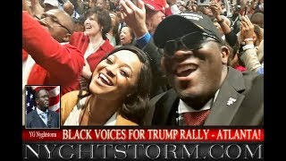 BLACK VOICES FOR TRUMP RALLY ATL: THE TRUTH!!!