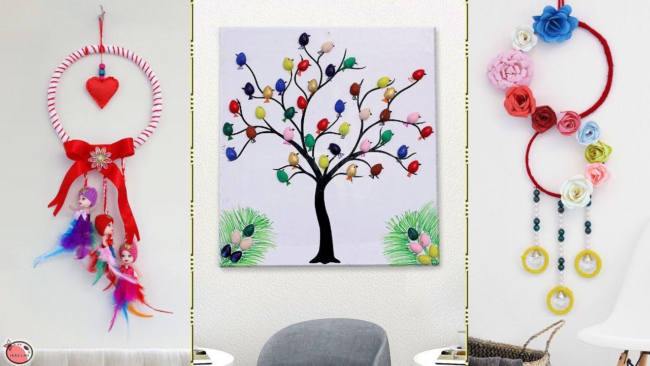 9 Beautiful Wall Decor Ideas Best Diy Craft Ideas Youtube
