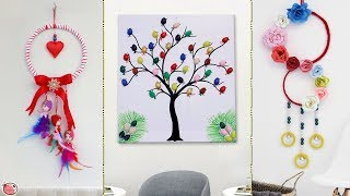 9 Beautiful Wall Decor Ideas !!! Best DIY Craft Ideas
