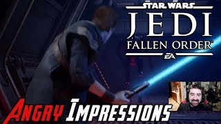 Star Wars Jedi: Fallen Order - Angry Impressions