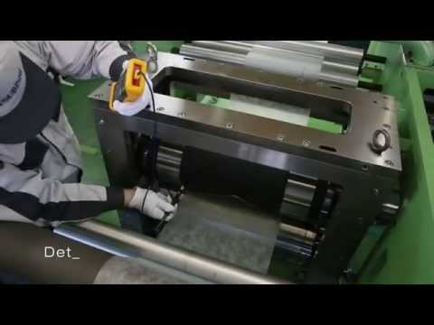 VIDEO Introduction of Mitsubishi Materials Rotary Die Cutter