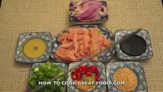 Honey Chicken Recipe Asian Cooking Sesame Seeds Stir Fry