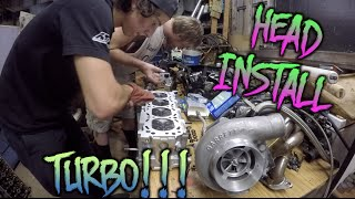 TURBO 240SX BUILD |  HEAD, HEADGASKET, AND COPPER SPRAY?