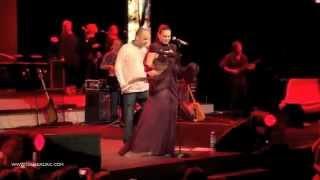 Nina Badric i Tony Cetinski - Dodiri od stakla @ ARENA BEOGRAD, 2012.