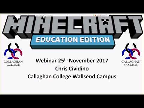 Minecraft Education Edition takes the Australian Curriculum