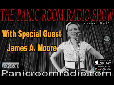 The New Panic Room Episode 77 featuring James A. Moore.