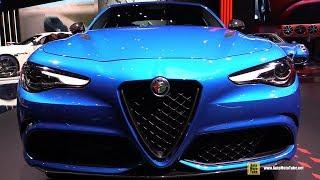 2019 Alfa Romeo Giulia Quadrifoglio - Exterior and Interior Walkaround - 2018 LA Auto Show