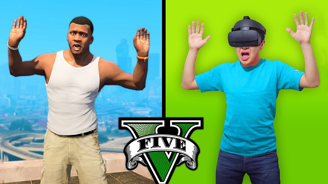 JUEGO GTA 5 en REALIDAD VIRTUAL! Grand Theft Auto V - GTA V Mods