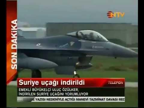 Delen van raket in Syrische vliegtuig