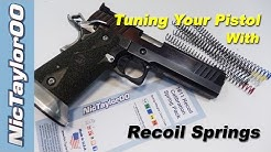 Tuning your Pistol for Faster Double Taps with Recoil Springs