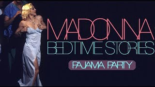 madonna bedtime story pajama party webster hall 1995 full version