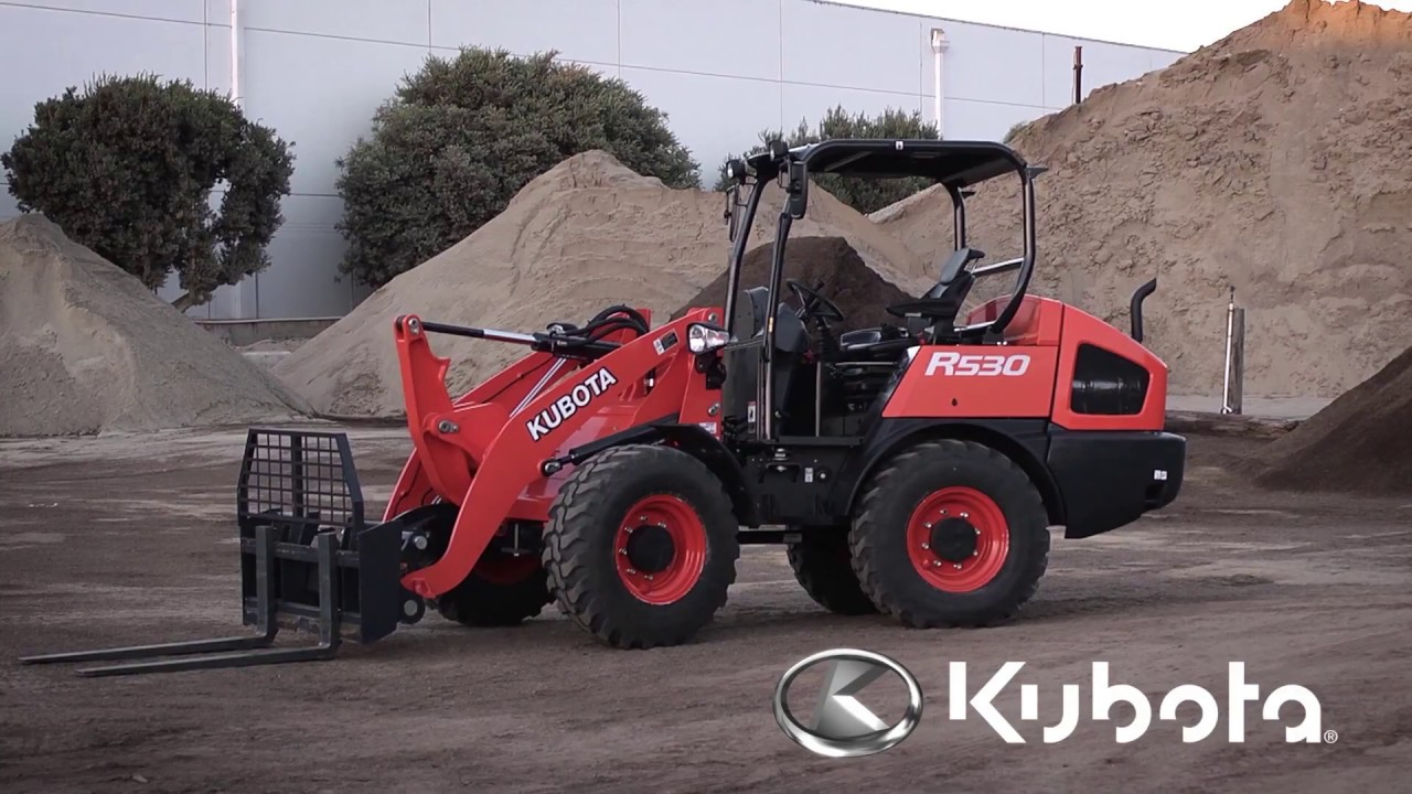 Wheel Loaders Kubota R530 Amp R630 Youtube