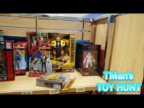 Sears Is Still Alive?! Magik at Rite-Aid: TMan's TOY HUNT #156