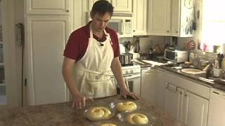 Kolach Part 6 - Egg Wash And Baking!