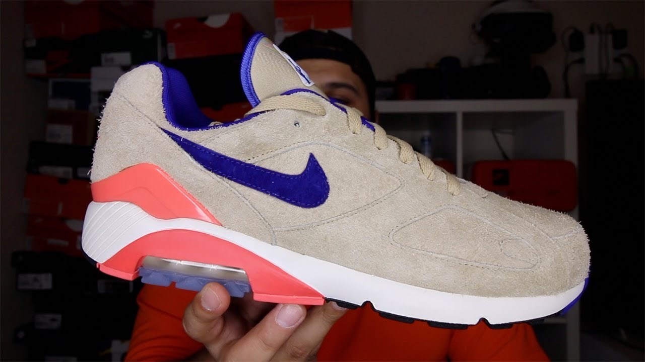 Nike Air Max 180 ID Ralph Steadman Review!