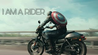 I am a rider//captain america//satisfya//new video song