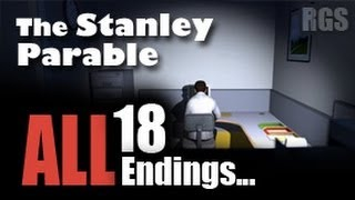 The Stanley Parable Gameplay (2013 Remake) - ALL 18 Endings - [HD]