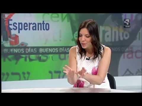 """Esperanto en el programa """"Buenos días Aragón"""""""