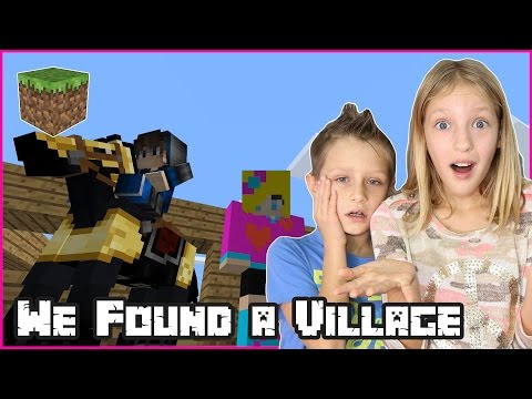 We Found a Village Again / Minecraft Survival