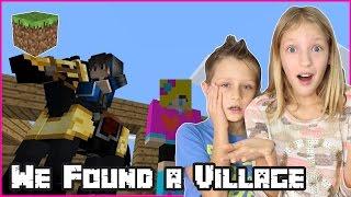 We Found a Village Again / Minecraft Survival