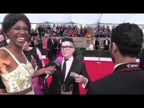 Lea Delaria @ 2016 SAG Awards   Black Hollywood Live