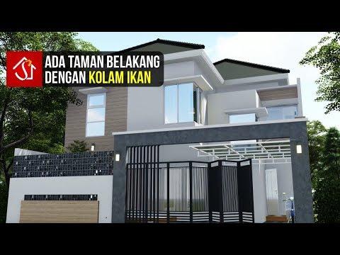 desain-rumah-tropis-modern-2-lantai-4-kamar-di-lahan-10x16-m