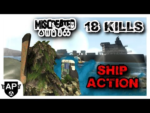 Fight On The Cargo Ship And Jet Ski (Ending Up With Full Ghillie C4 And 18 Kills - Miscreated EP 161