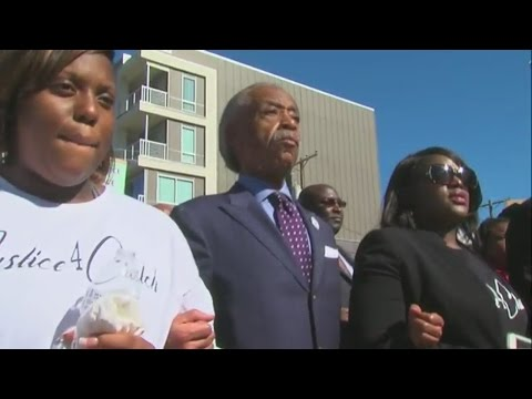 Reverend Al Sharpton's 'National Prayer Call for Justice' march begins in Tulsa