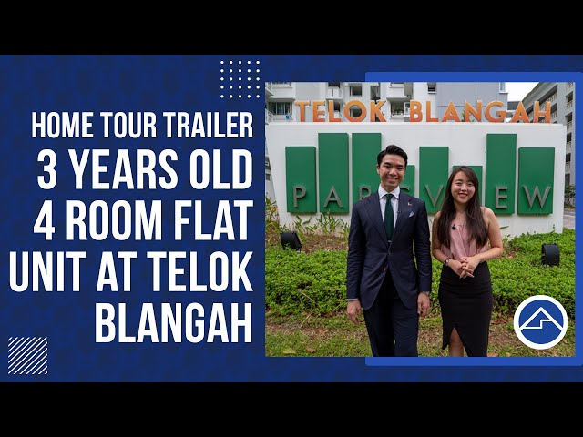 [SOLD!!!]Telok Blangah Parcview -3 years old 4 Room Flat Trailer!