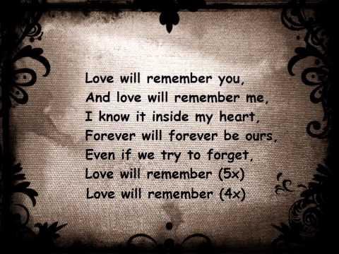 Selena Gomez - Love will remember (lyrics)