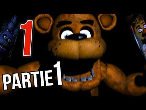 FIVE NIGHT AT FREDDY'S 1 - NUIT 1
