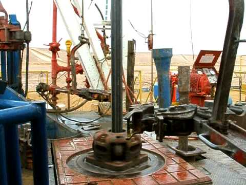 Drilling Rig in Masila, Yemen, Year: 2005 (video_1022)