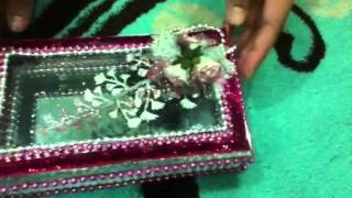 How To Make A Mirror Jewellery Box