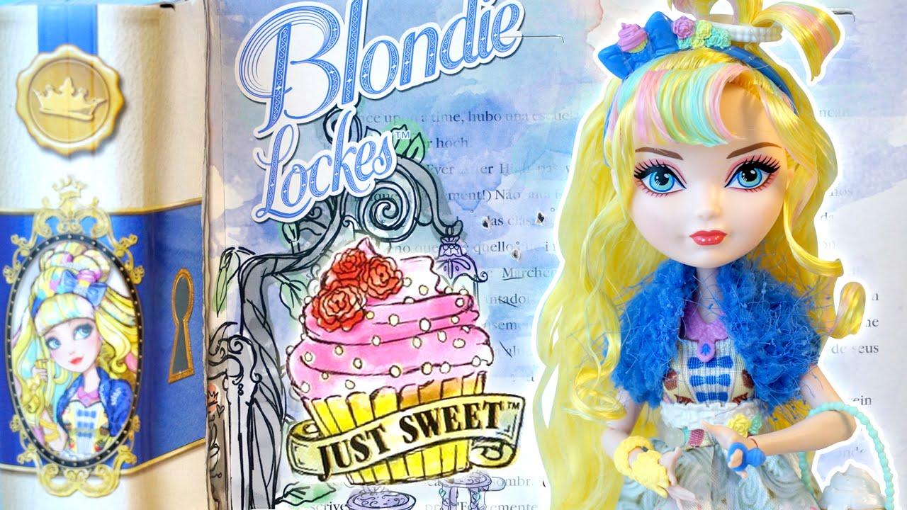 Ever After High Blondie Lockes Just Sweet Doll Daughter of Goldilocks