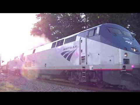 The Amtrak Crescent #20 With Awesome Crew! Mableton,Ga 05-09-2020©