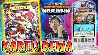 KARTU DEWA DENGAN STRENGTH 10000++ GOD AXEL EMANG PALING GG - Animal Kaiser Indonesia