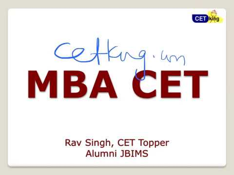 MBA CET 2017 Result cutoffs procedures and analysis