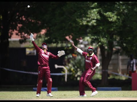 CWCQ: West Indies' winning moment v UAE