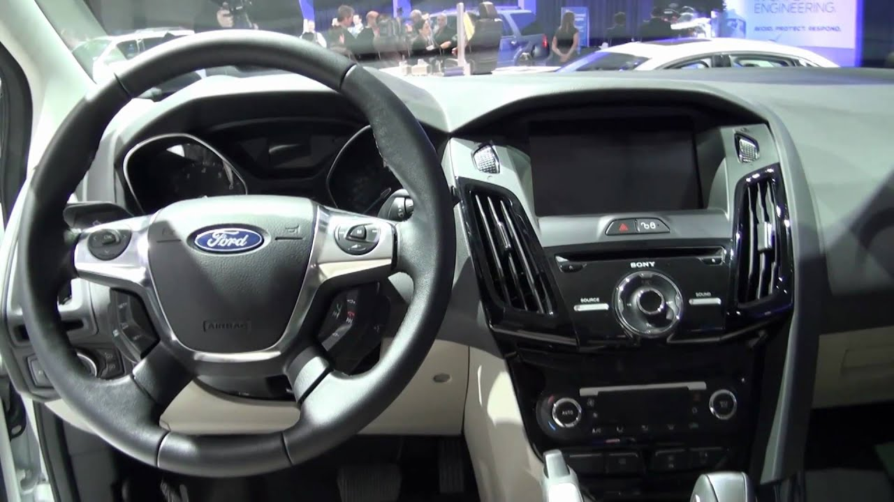 All New 2017 Ford Focus Electric Interior Design
